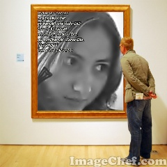 Frame with Man