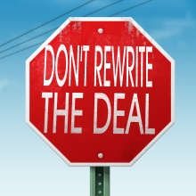 Attorney Transaction Killer Series - Don't Rewrite the Deal