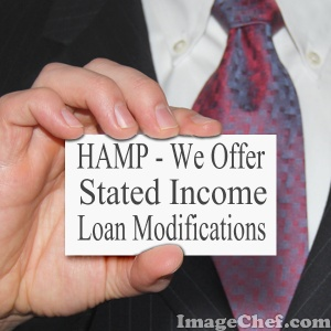 HAMP - We Offer Stated Income Loan Modifications