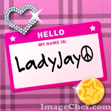 Name Tag Pink