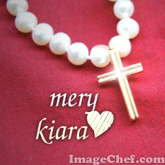 Cross and Pearls