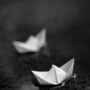 7 paper boats