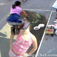 Sidewalk Chalk Photo