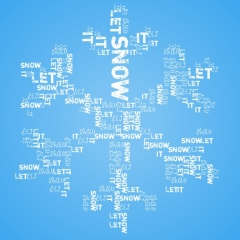 Visual Poetry - Snowflake