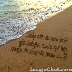 Beach Message