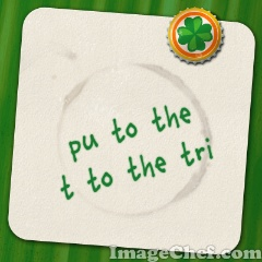 Irish Drink Coaster