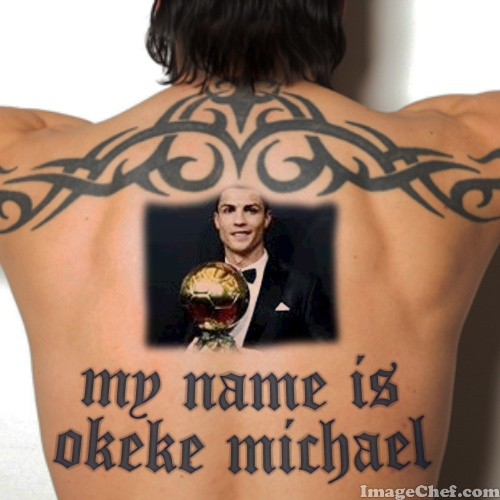 Tattoo Back Photo