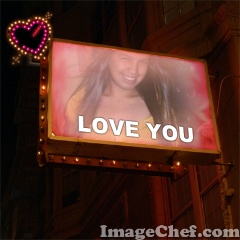 Club Love Sign